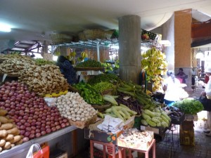 Központi piac - Port Louis